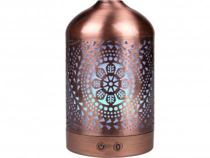 Nature7 569614 aroma difuzér ORIENT, osvěžovač a zvlhčovač vzduchu, kovový povrch