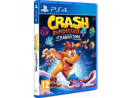 Crash Bandicoot 4:Its About Time hra PS4