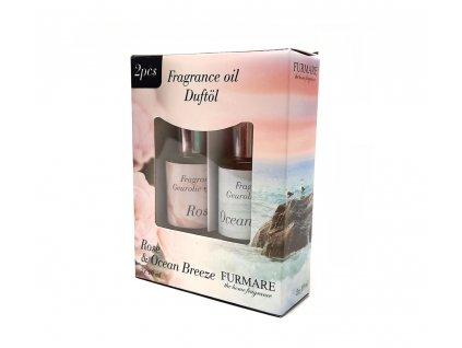 Madalbal 569606 vonný olej 2x10ml růže a vůně oceánu, balení 2ks