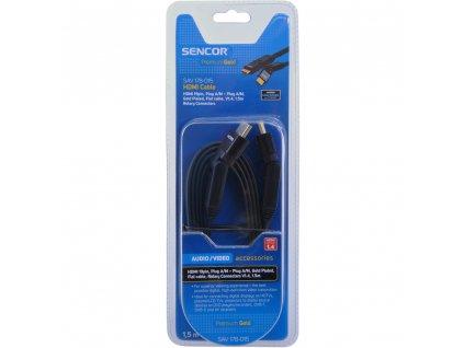 SAV 178-015 HDMI A-A R.FL.V1.4 PG SENCOR
