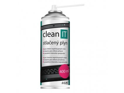 Stlačený vzduch Clean IT, 400ml