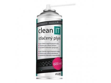 Stlačený vzduch Clean IT, 600ml