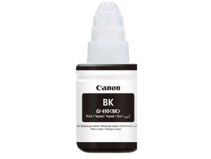 Inkoustová náplň Canon GI-490 PGBK