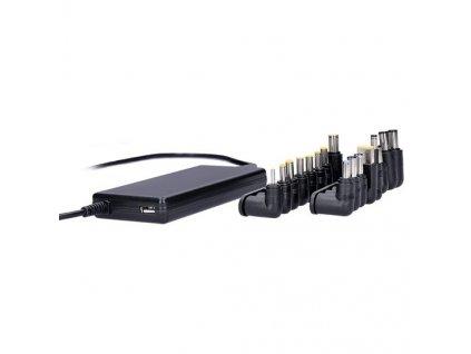 Napájecí adaptér Solight DA33 univerzální pro notebooky, 90 W, 6 koncovek, automat