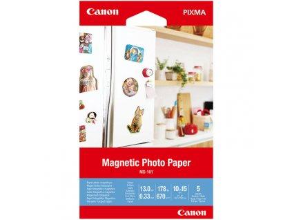 Fotopapír Canon MG-101, magnetický, 10x15 cm, 5 listů