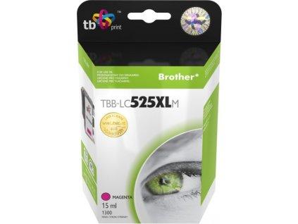 Inkoustová náplň TB LC525XLM pro tiskárny Brother DCP-J100/ DCP-J105/ MFC-J200 - magenta