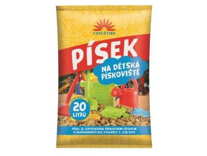 Písek pro dětská pískoviště - 20 litrů