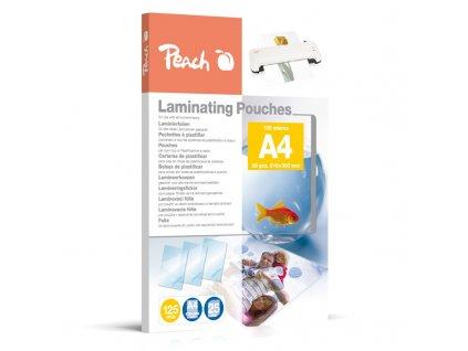Laminovací fólie Peach A4 (216x303mm), 125mic, 25 ks