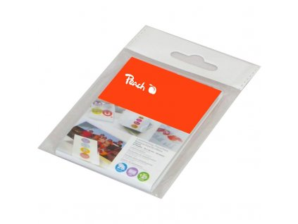 Laminovací fólie Peach na kreditní karty (54x86mm), 125mic, 25 ks