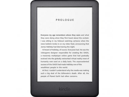 Čtečka e-knih Amazon Kindle Touch 2020 s reklamou - černá