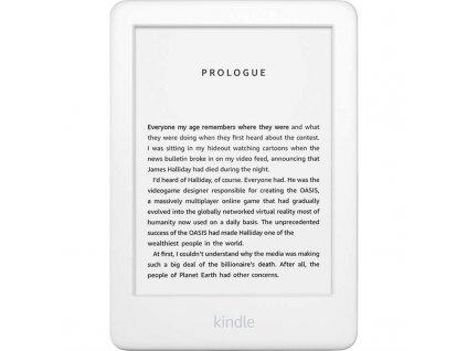 Čtečka e-knih Amazon Kindle Touch 2020 s reklamou - bílá