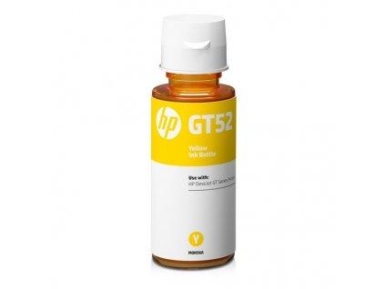 Inkoustová náplň HP GT52 - yellow originální