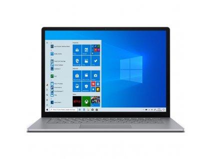 "Ntb Microsoft Surface Laptop 3 15"" R5-3580U, 8GB, 256GB, 15"", bez mechaniky, AMD BT, CAM, W10 Home - stříbrný"