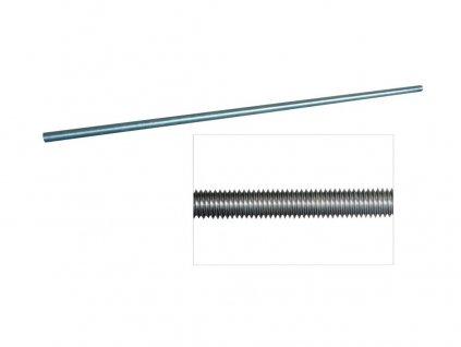Tyč závitová M 4 Zn  DIN975, TP 4.8  (1m)