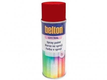 Barva ve spreji BELTON RAL 3000, 400ml ČRV ohnivě lesklá
