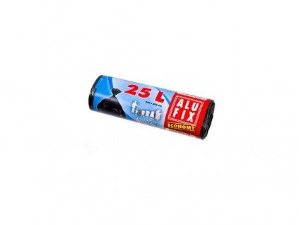Pytle na odpadky  25l (30ks) 44x50cm ČER 7µ ECONOMY