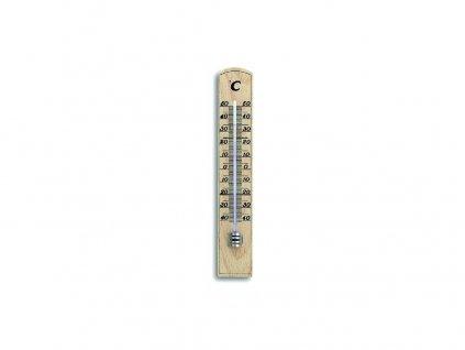 Teploměr pokojový 20cm dřev. 12.1004