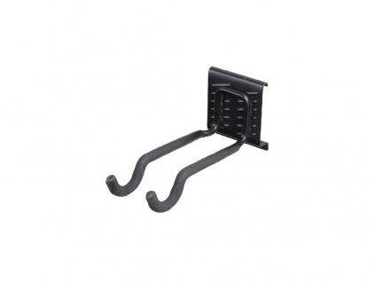 Hák dvojitý lžíce 7,5x9,5x20,5cm BlackHook závěs.systém G21