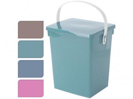Box s odkl. víkem 5,5l, 23,5x18x26,5cm PH mix barev