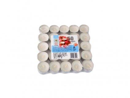 Svíčka čajová BÍ (50ks) (hoří 50x3-4hod)
