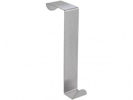 Háček na dveře velký nerez 2,5x12cm (2ks) blistr