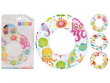 Kruh nafukovací 50cm mix dekorů