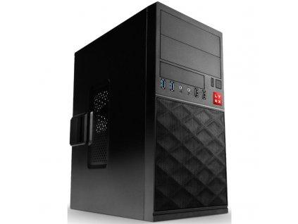 Počítač Lynx Office i3-10100, 8GB, 480GB, DVD±R/ RW, Win10 Pro