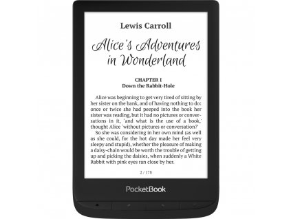 E-book 628 Touch Lux 5 Black POCKETBOOK