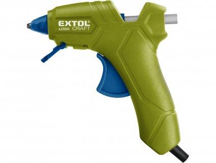 EXTOL CRAFT 422000 pistole tavná lepící, ⌀7,2mm, 25W