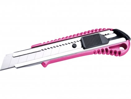 EXTOL LADY 80059 nůž ulamovací celokovový s výztuhou, 18mm, Auto-lock