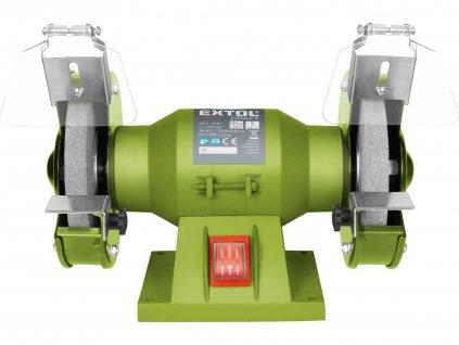 EXTOL CRAFT 410120 bruska stolní dvoukotoučová, 150W