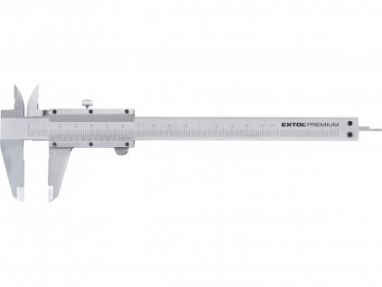 EXTOL PREMIUM 3425 měřítko posuvné kovové, 0-150mm