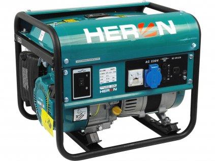 HERON 8896109 elektrocentrála benzínová 2,8HP/1,1kW