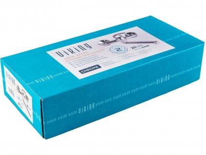 VIKING 65007 baterie umyvadlová/dřezová, 150mm, ram. 20cm, 35mm, chrom