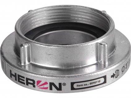 """HERON 8898110 spojka B75 pevná, vnitřní závit NPT, tlakové/sací těsnění, 3"""" (80mm)"""