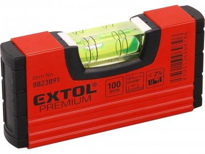 EXTOL PREMIUM 8823891 vodováha kapesní, 100mm