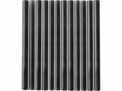 EXTOL CRAFT 9912 tyčinky tavné, černá barva, pr.7,2x100mm, 12ks