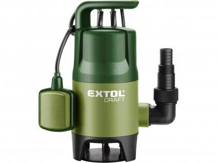 EXTOL CRAFT 414122 čerpadlo na znečištěnou vodu, 400W, 7500l/hod