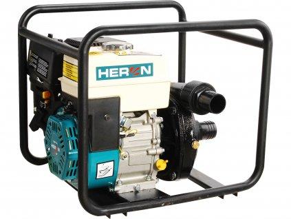 HERON 8895109 čerpadlo motorové tlakové 6,5HP, 500l/min