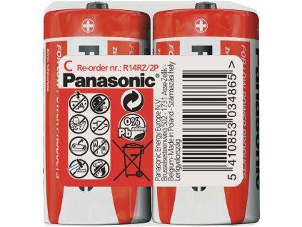 R14 2S C Red zn PANASONIC