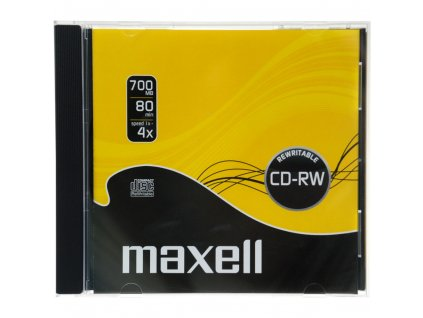 CD-RW 700MB 4x 1PK JC 624860 MAXELL
