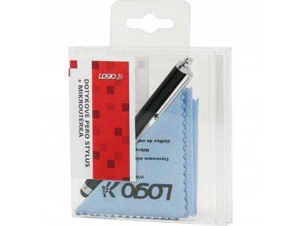 SUK009K Stylus + mikroutěrka LOGO