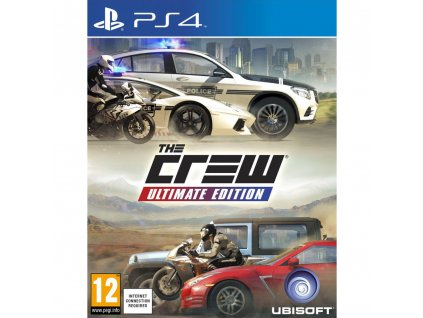 The Crew Ultimate Edition PS4 UBISOFT