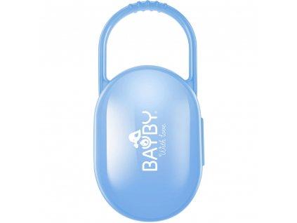 BBA 6401 Pouzdro na dudlík modré BAYBY