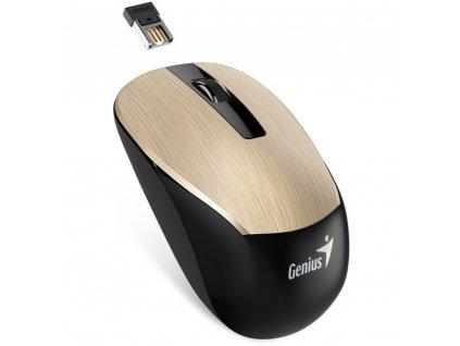 NX-7015 bezdrátová myš zlatá GENIUS