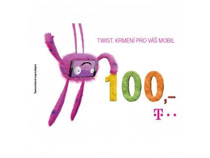 Twist kupon 100Kč T-MOBILE