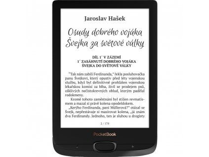 E-book 616 Basic Lux 2 Black POCKETBOOK