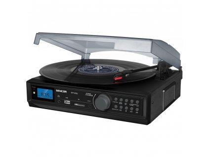 STT 212U GRAMOFON S USB/SD/FM/BT SENCOR