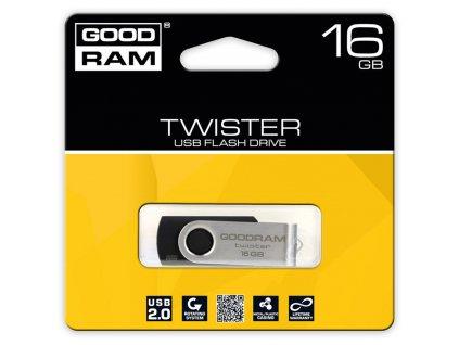 USB FD 16GB TWISTER USB 2.0 GOODRAM
