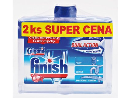 UNI FINISH Čistič myčky 250 ml DUO